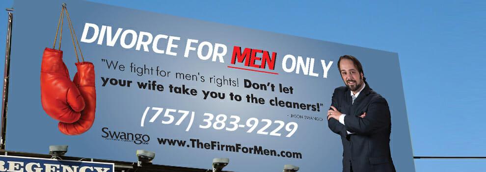 men's divorce lawyer