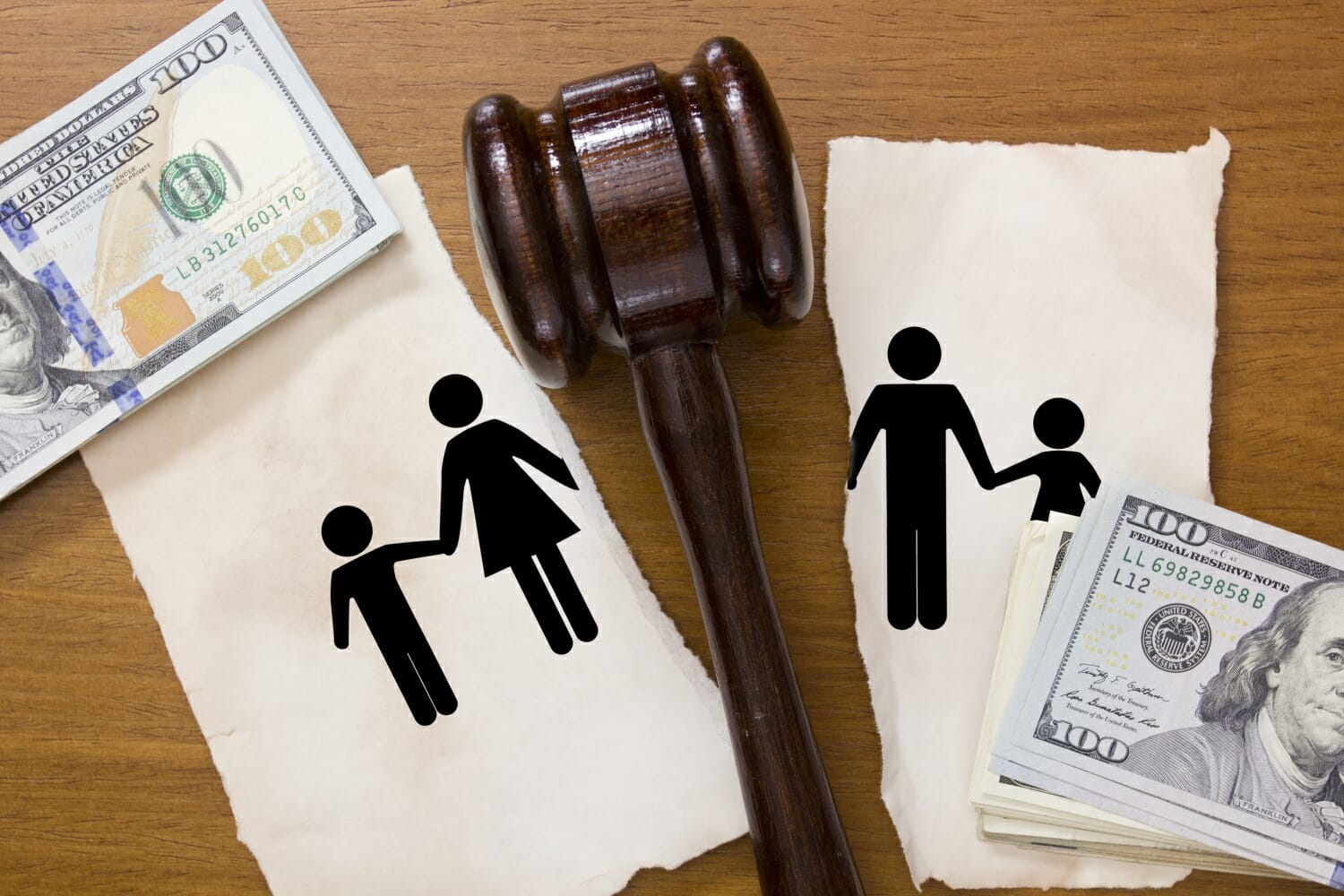 Liquidating assets before divorce custody