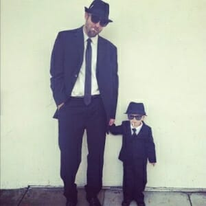blues brothers father son costume