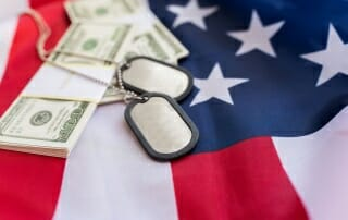 is my wife entitled to my va benefits?