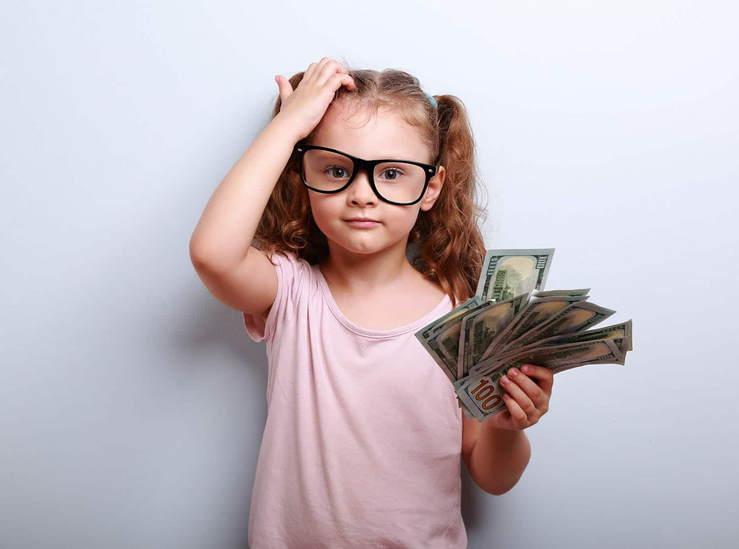 child support spending