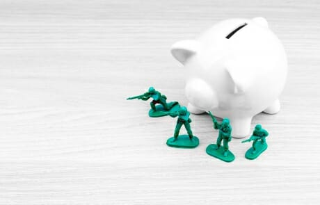 """Divorce & Military Pension: Determining the """"Marital Share"""""""