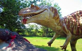 dinosaur land white post virginia