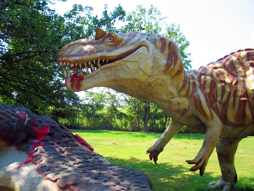 dinosaur land white post virginia