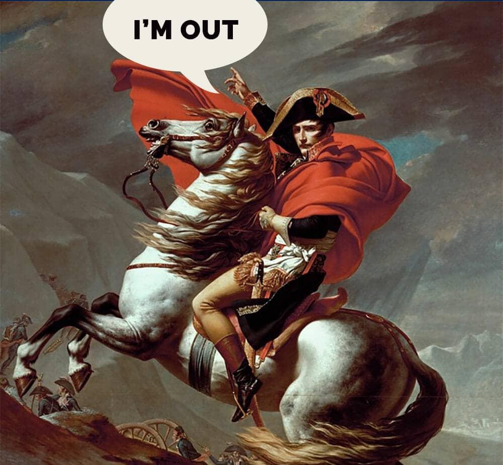 Napoleon Bonaparte divorce