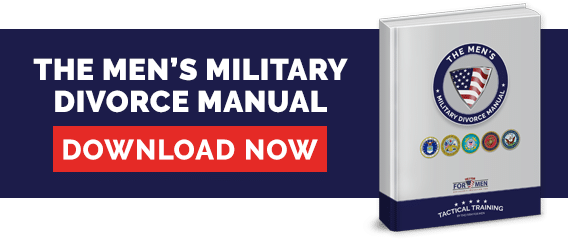 The Military Divorce Manual for men