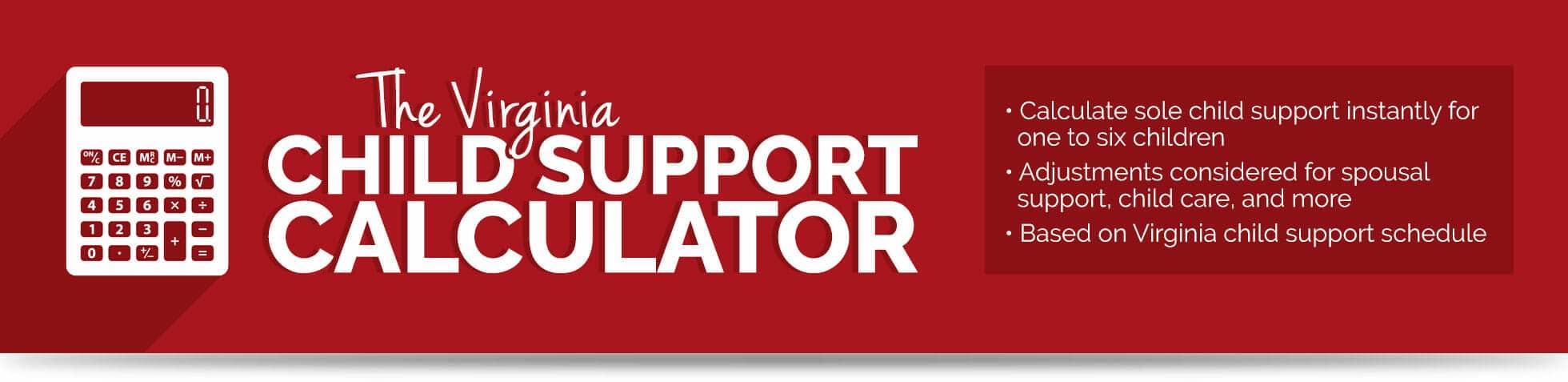 Virginia Beach Child Support Calculator