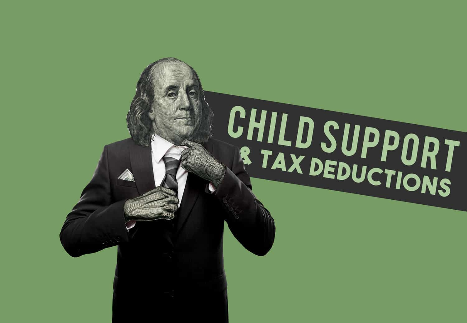 child support and tax deductions