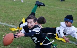 The Irish flag football team win!