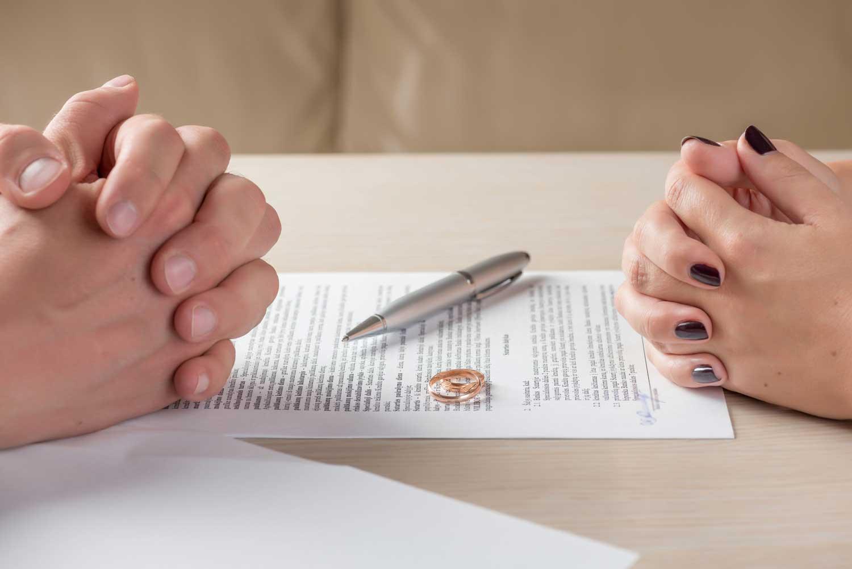 filing for separation before divorce
