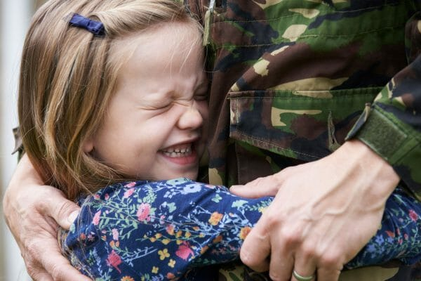 will my child's mother get custody because I'm military?