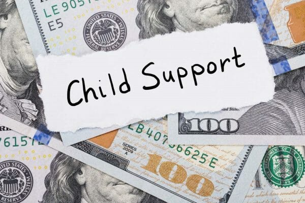 can a child support order be in multiple states