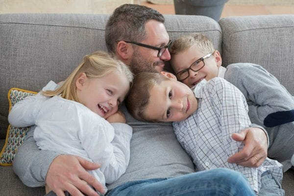 how to make parenting time feel like home