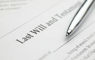 updating your will after divorce