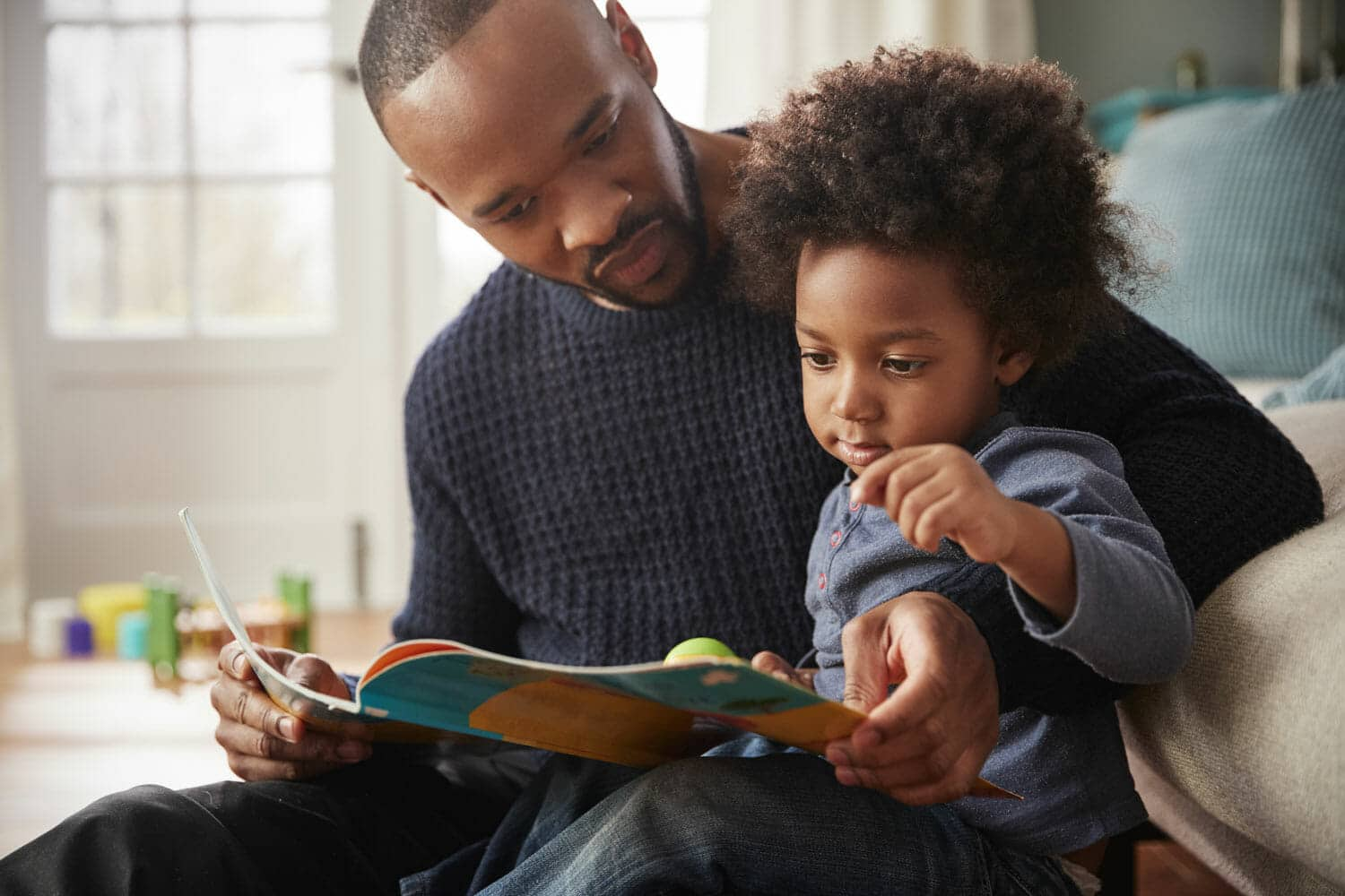 being a more patient and understanding father