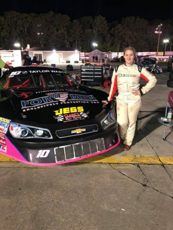 The Firm For Men sponosrs Maddy Ryan Racing