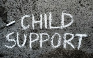 waiving child support in Virginia