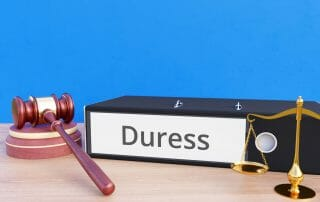 duress sign separation agreement Virginia