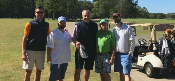 The Firm for Men at the Virginia Sports Hall of Fame Golf Classic 2019