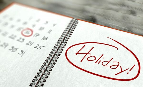holiday custody schedules in Virginia