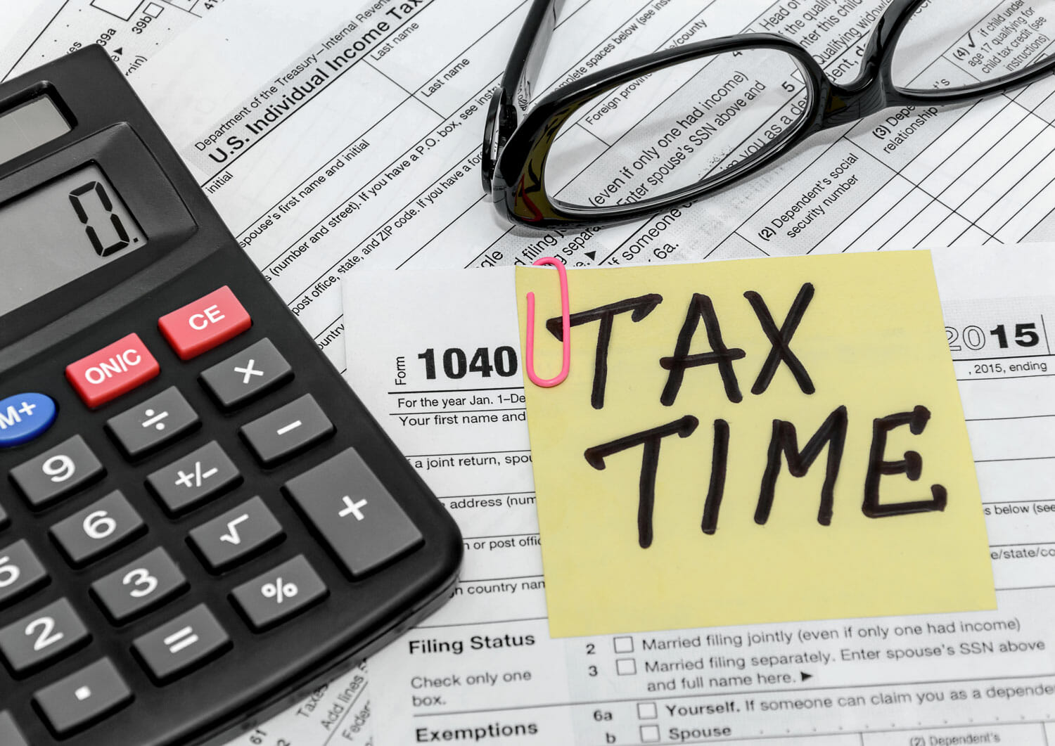 filing taxes during separation
