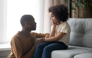 how to talk to a child about parental alienation