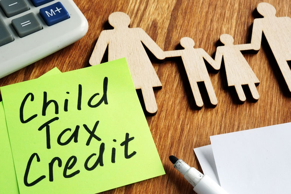 I don't claim the kids but got the temporary tax credit