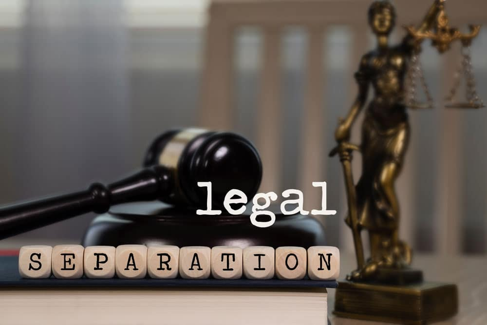 pros and cons of Virginia legal separation